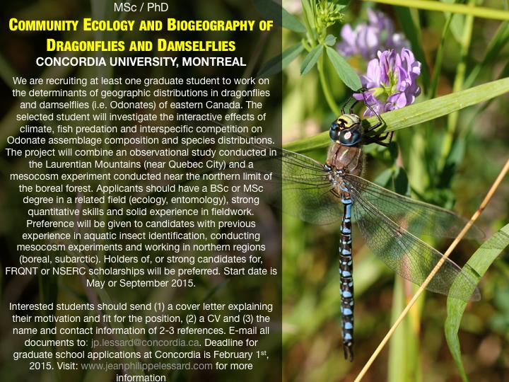 Concordia University, Montreal (Canada): Several MSc and PhD